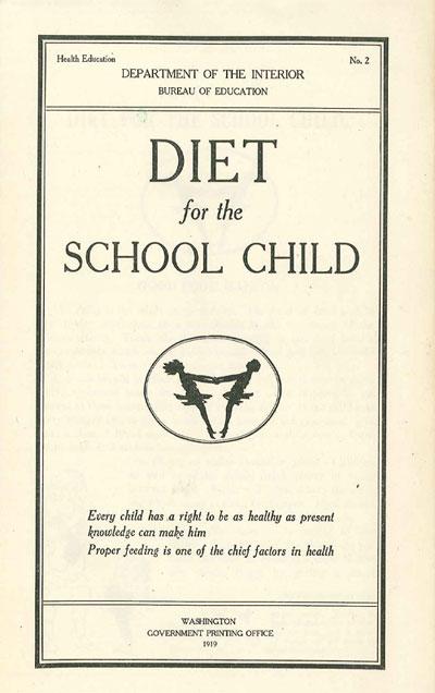 Diet of the School Child