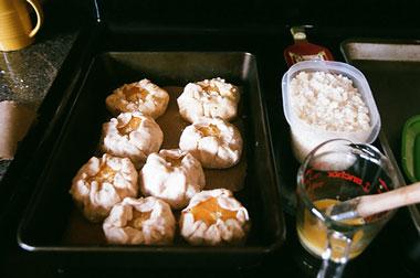 Orange-crostatas