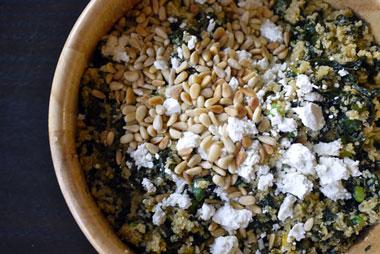 Kale-quinoa-pilaf