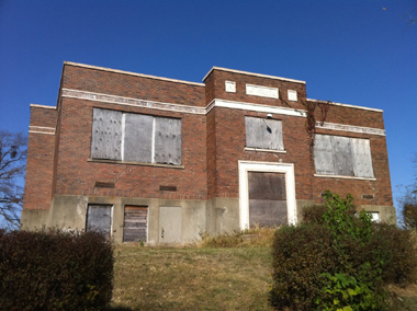 Abandoned Butlerville Indiana school - ASF