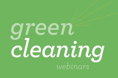Green Cleaning Webinar Banner